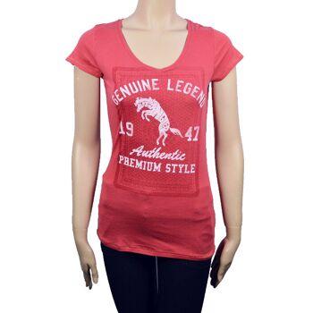 Wrangler Damen T-Shirt Shirt Shirts T-Shirts 44081500