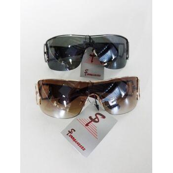 Braune und schwarze 'Si sunglasses' trendige Damen sonnenbrillen