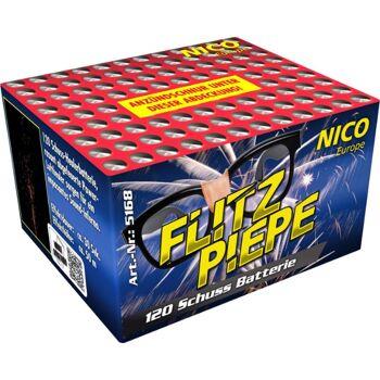 Flitzpiepe 120 Schuss Batteriefeuerwerk