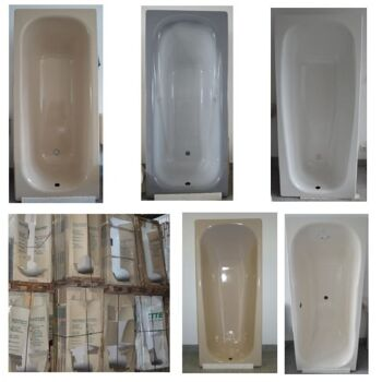 Kaldewei and Bette bath-tubs – MADE IN GERMANY