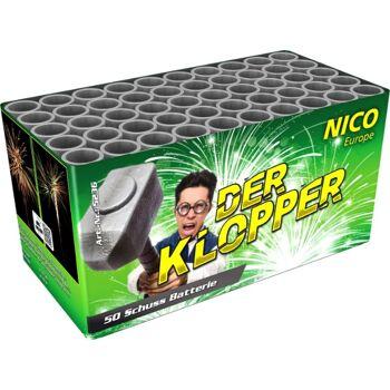 Klopper 50 Schuss Batteriefeuerwerk