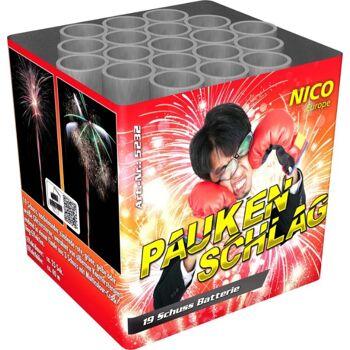 Paukenschlag 19 Schuss Batteriefeuerwerk