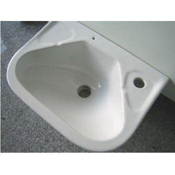 Sonderposten kompakte Hand-Waschbecken 40x30 cm in Weiss