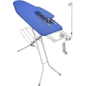 12-800066, Bügelstation 'Select' 120 x 38 cm mit Elektroanschluss und Ärmelbrett, Bügeltisch, Bügelständer, Bügelbrett, Bügeltisch-Set