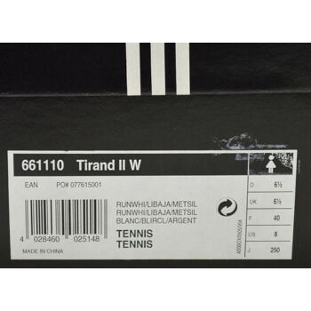 adidas Tirand II W Damen Tennis Schuhe Laufschuhe Damen Schuhe 21041703