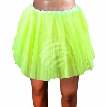 Tutu Petticoat Unterrock hellgrün grün ca. 46 cm
