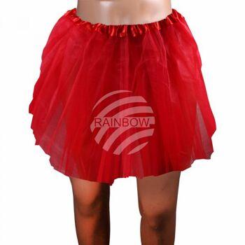 Tutu Petticoat Unterrock rot ca. 60 cm