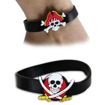 Armband Piratendesign 2 fach sortiert - Umfang ca 19cm