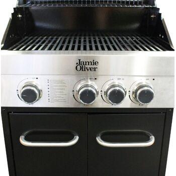 Gasgrill Jamie Oliver Classic 3S 3 Brenner Seitenbrenner Gas Grillwagen Grill