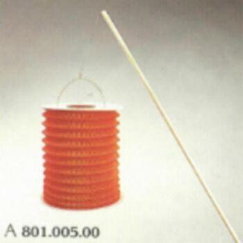 Holz-Laternenstab 60 cm, mit Drahtbügel, lose