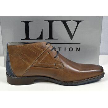 LIV Collection Herren Leder Stiefel Gr.44 Marken Herren Schuhe 31121605