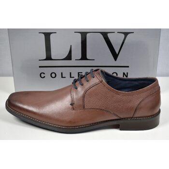 LIV Collection Herren Leder Stiefel Gr.45 Marken Herren Schuhe 31121606