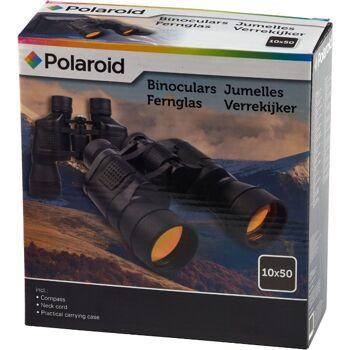 28-302587, Fernglas 10x50 Polaroid, mit Kompass und Tragetasche