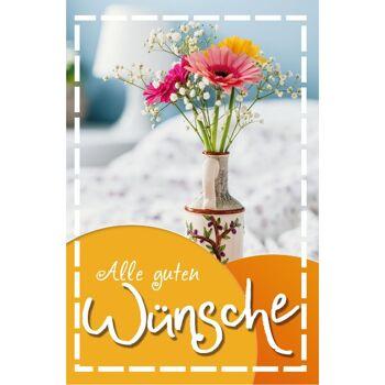28-994115, Glückwunschkarten allgemeine Wünsche bunt, Geschenkkarten, Glückwunschkarten