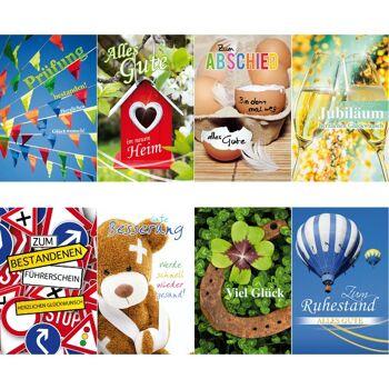 28-994239, Glückwunschkarten verschiedene Anlässe, Geschenkkarten, Glückwunschkarte