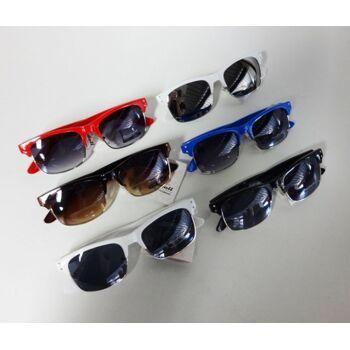 6-Farben-Sortiment Aedoll Sonnenbrillen für Männer oder Frauen