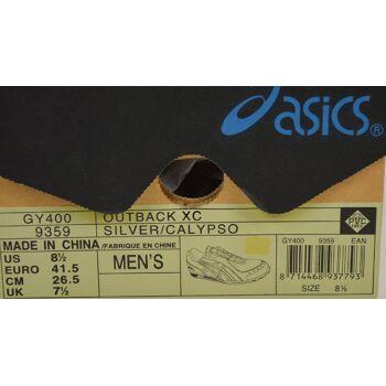 Asics Outback XC Herren Laufschuhe Gr. 41,5 Asics Herren Schuhe 30041700
