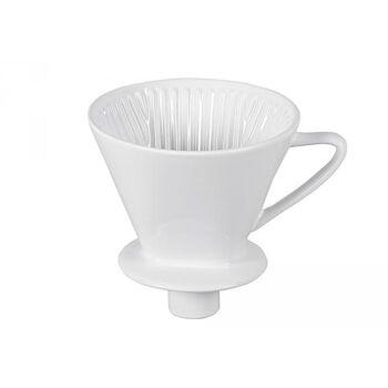 Kaffefilter Permanentfilter mit Stutzen Gr. 4