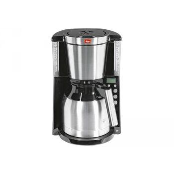 MELITTA Kaffeemaschine 10Tassen Thermokanne 1000Watt schwarz / Edelstahl