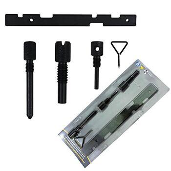 Hengda® 5-tlg Motor Zahnriemen wechseln Werkzeug Arretierung Nockenwellen Motoreinstellwerkzeug für Ford Escort Fiesta Mondeo Puma Focus