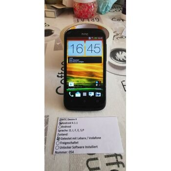 HTC Desire X 4 Zoll Android 4.1.1.