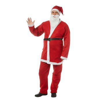 17-11816, Weihnachtsmann-Kostüm , 5-teilig