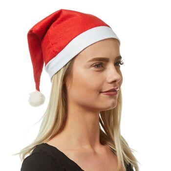 17-40110, Weihnachtsmütze mit Bommel