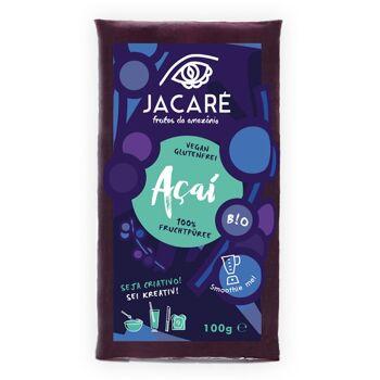 TK Bio-Acai (vegan, low-carb, glutenfrei) - Superfruit Smoothie Packs