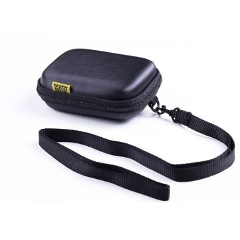 1240 Stück Kamerataschen aus Lagerauflösung - EVA Hartschalen Taschen Hardcase schwarz passend für kleine Digitalkameras