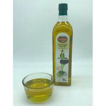 Extra Natives Olivenöl 750ml Glasflasche kaltgepresst Güteklasse1 4005156154146