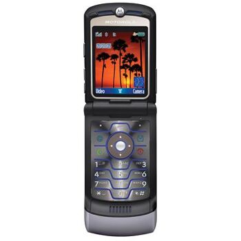 Motorola Razr V3i Handy (1.2 MP Kamera, MP3-Player)