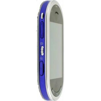 Rare Samsung M7600 BEATDJ Handy (3 MP-Kamera, Touchscreen, Surround Sound 5.1 Bang&Olufson) splash-blue