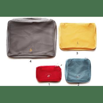 4er Set - Reisetaschen Kulturbeutel Taschen