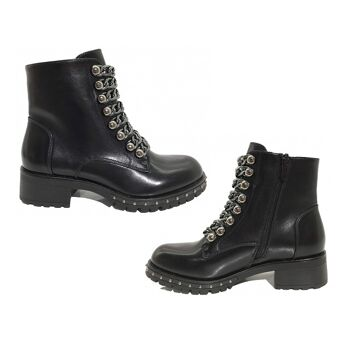 Damen Woman Trend Boots Stiefeletten Outdoor Stiefel Reißverschluss Halbstiefel Schuhe Schuh Shoes Business Freizeit - 18,49 Euro