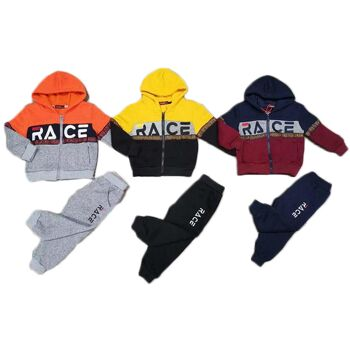 Kinder Baby 2-Teiler Jogginganzug Sweatshirtjacke Hoody Pullover mit Hose Sportanzug Trainingsanzug Jogginghose Pulli - 9,90 Euro