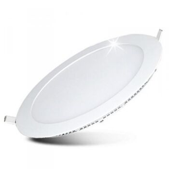 "LED Panel Lampe 24W Rund ""Innenputz"""
