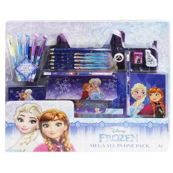 12-7063855, Disney Frozen Ultimate Fun Großes Schreibset  19-teilig, mit Tasche