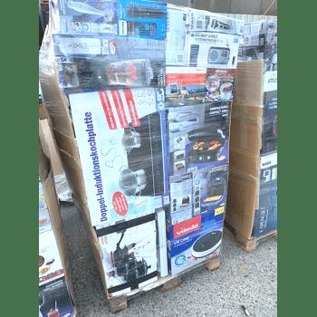 Mischpalette Elektro und Non Food Ware B & C Mix ca. 1,75m Palette EXPORT