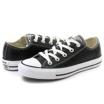 Converse All Star leather MEN black