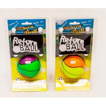 Return Ball Neon sort, 1 Stück