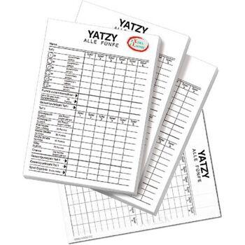 Yatzyblöcke eXtra cLassic 3er Set