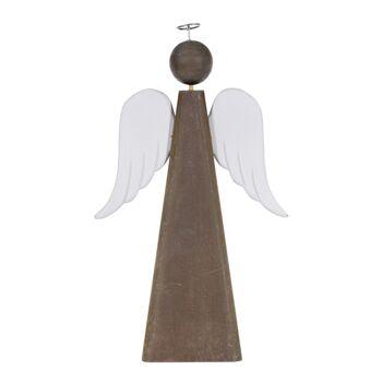 17-50886, Holz Deko-Engel 35 cm