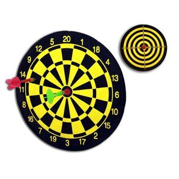 27-44235, Dartscheibe mit 2 Pfeilen, Dartspielset