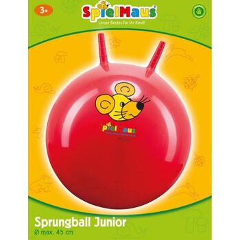 SpielMaus Outdoor Sprungball Junior, 45-50cm