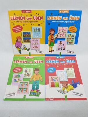 12-978384990, Kinder Bücher Lernen und Üben, mit 192 Belohnungsstickern, Kinderbuch, Kinderbücher, von Pädagogen empfohlen