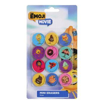 27-40129, Radiergummi Emoji Lachgesichter 12er Pack