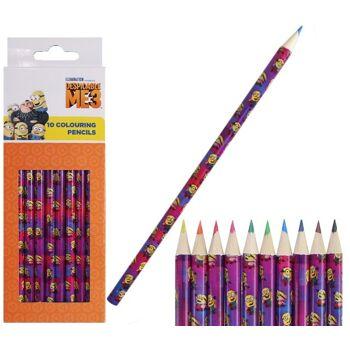 27-44591, Buntstifte Minions 10er Pack
