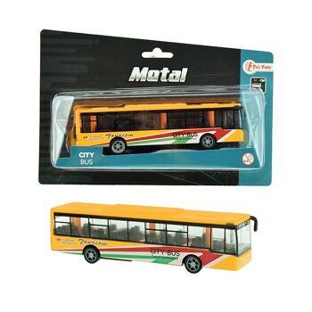 27-46218, Metall Bus, City Bus, Stadtbus, mit Antrieb