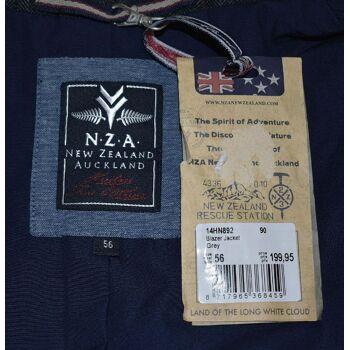 New Zealand Auckland NZA Blazer Gr.56 Jacket Sakko Anzugsakko Jackett 30101804