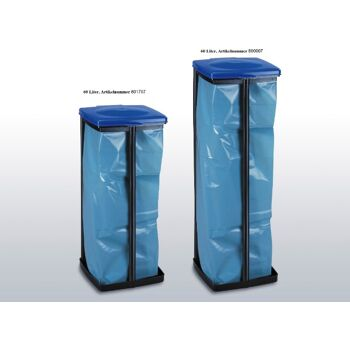 12-801797, Müllbeutelständer 60 Liter mit Deckel, auch für Wertstoffsäcke (gelbe Säke) geeignet++++++